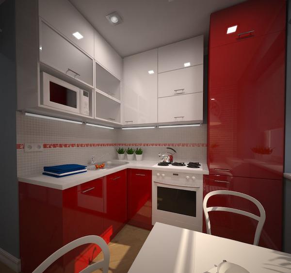 Кухня дизайн хрущевок