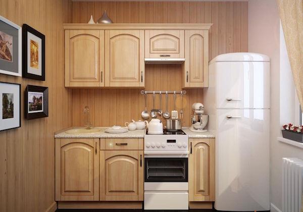 Прямая кухня
