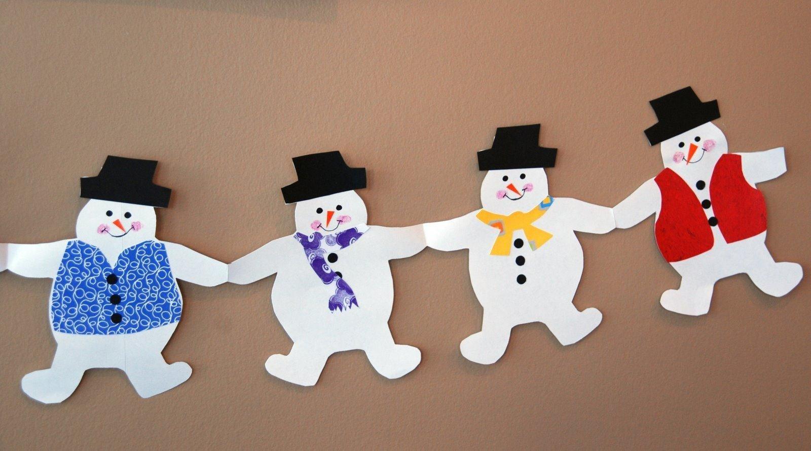 Украшение снеговика своими руками 9