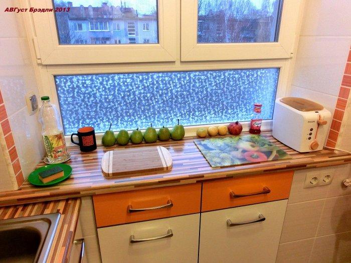 Холодильник под окном в хрущевке своими руками