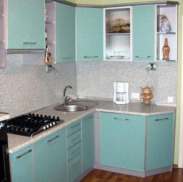фото нестандартных угловых кухонь