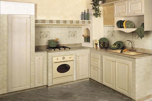 керамогранит на кухне