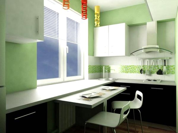 Маленькая кухня 2 м