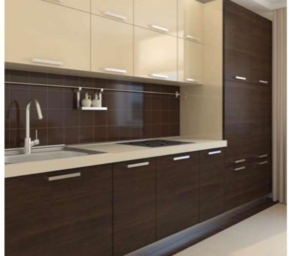 Цвет кухонной мебели