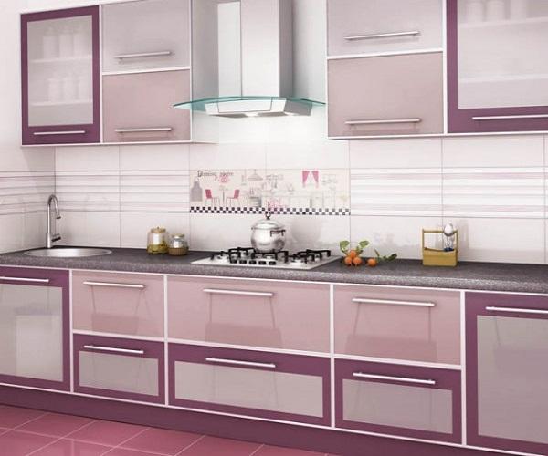 Сиреневый цвет в интерьере кухни: подбираем оттенки