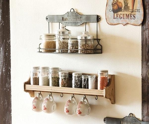Декоративная полочка на кухню своими руками 57