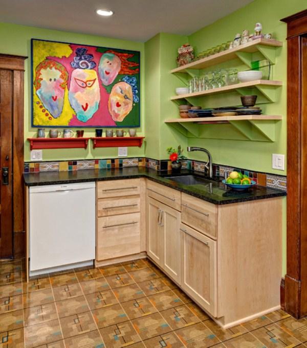 Как сделать маленькую кухню уютнее