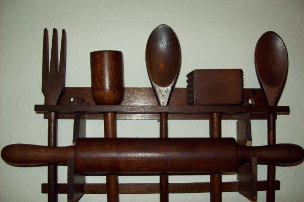 кухонная утварь из дерева