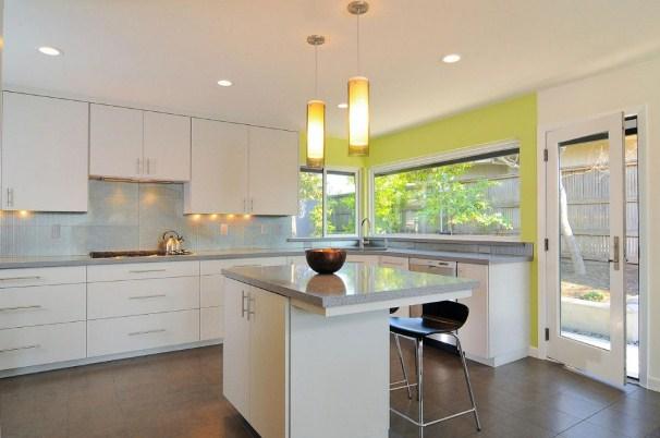 кухня цвета лайм2