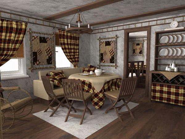 Кухонные шторы дизайн