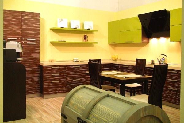 кухни цвета зебрано