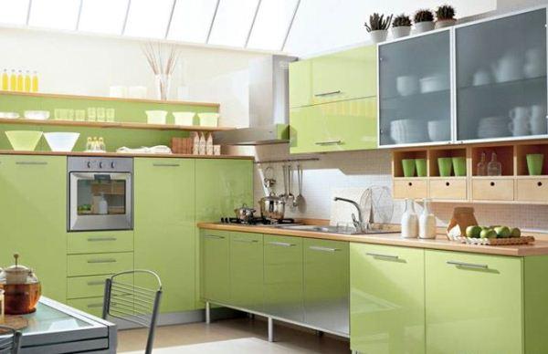 интерьер кухни в коричневом цвете фото
