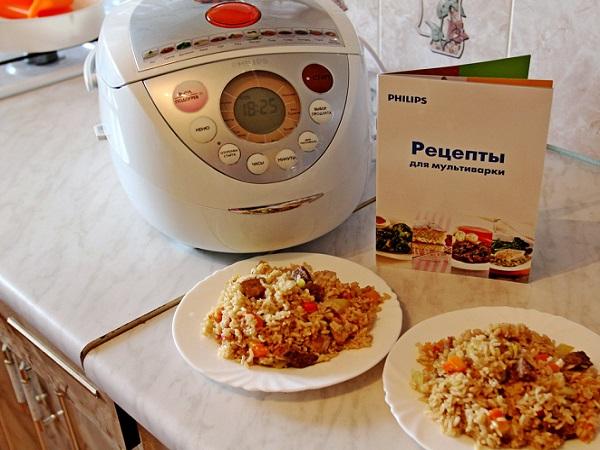 Блюда в мультиварке филипс рецепты с фото