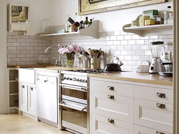 кухня в винтажном стиле фото