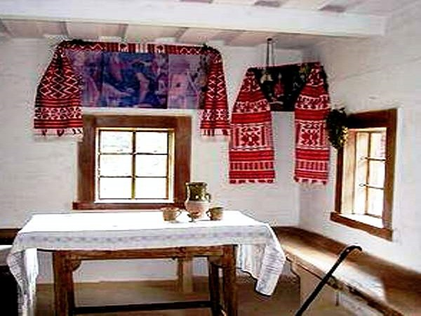 кухня в белорусском стиле