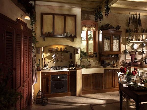 кухни в старорусском стиле