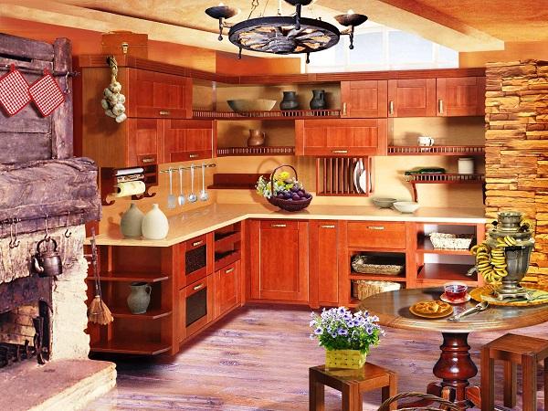 кухни в старинном стиле