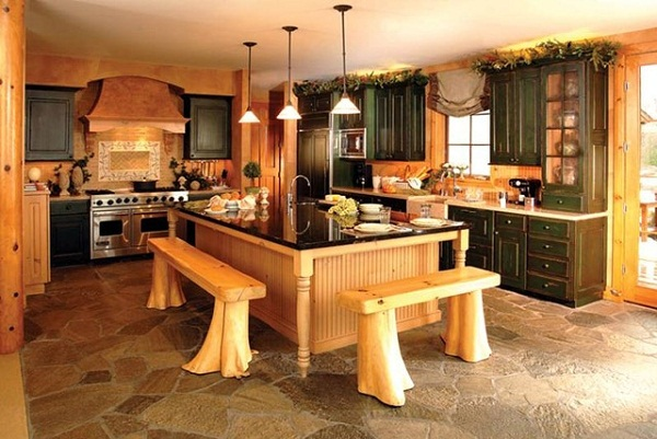 Столешницы из искусственного камня для кухни 133