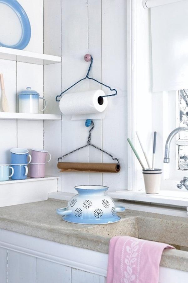 Держатель для бумажных полотенец для кухни своими