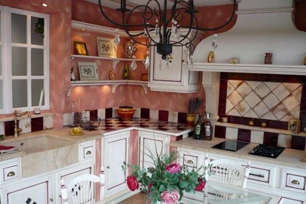 декор кухни в стиле прованс