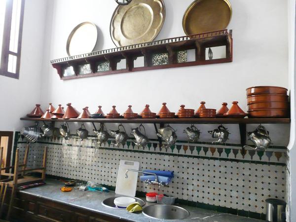 кухня в марокканском стиле фото