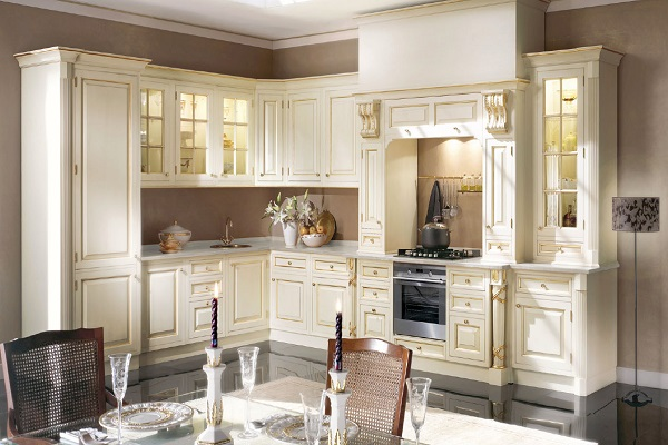 кухня в стиле барокко