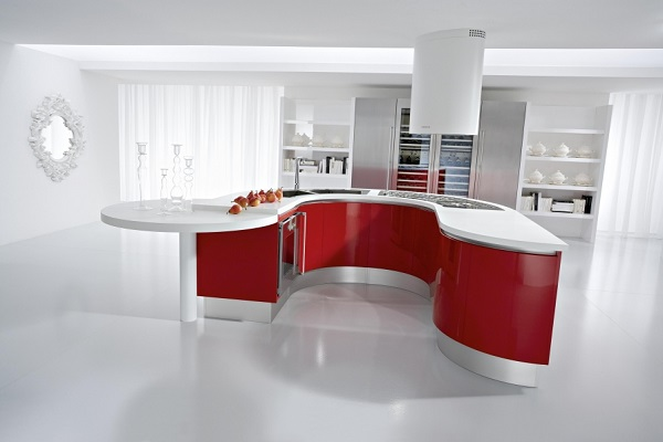 Kuhnya v stile hi tech7 - Lovely kitchen decoration with various small bar design ideas ...