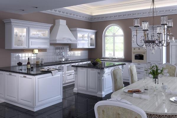 Кухня в викторианском стиле фото