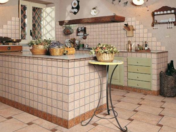 плитка декор для кухни