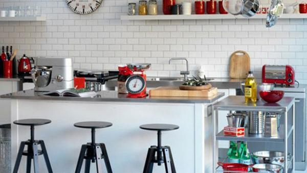 Плитка кирпич для кухни