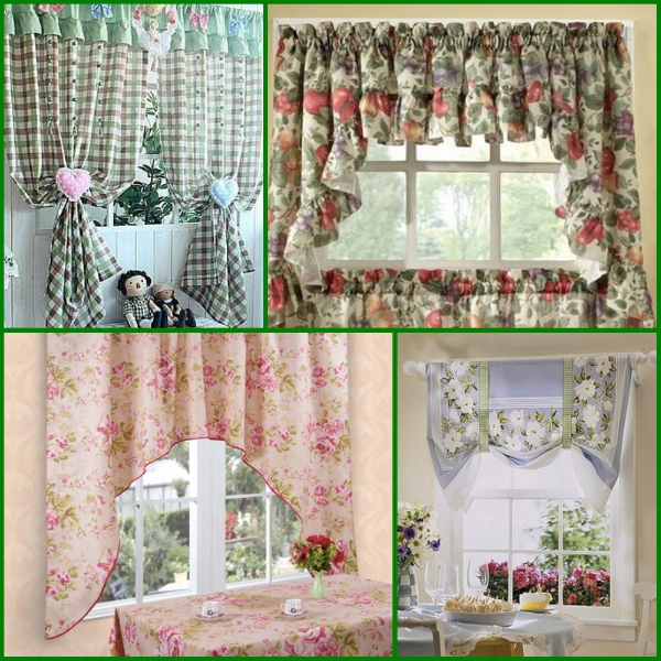кухонные шторы прованс