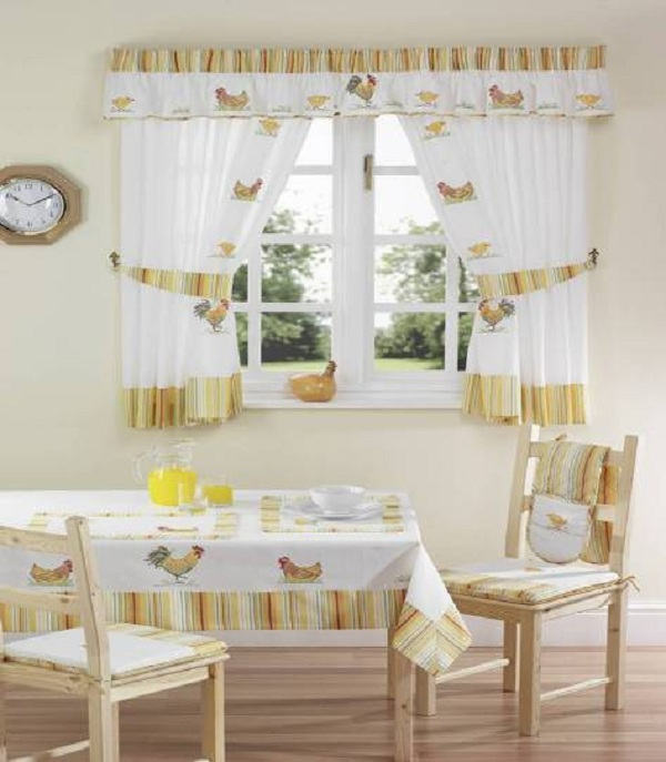 kitchen curtain styles