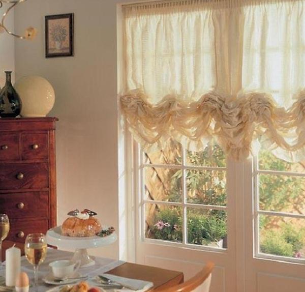 Сшить шторы для кухни своими руками фото