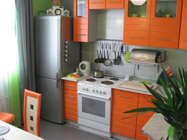 Кухня 7 кв.м. дизайн