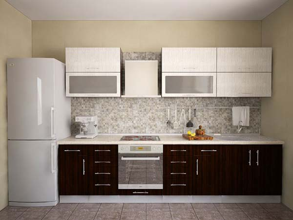for Single line kitchen designs