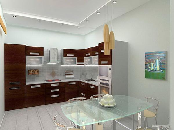 Кухня мебель дизайн интерьер фото 16 кв метров цена