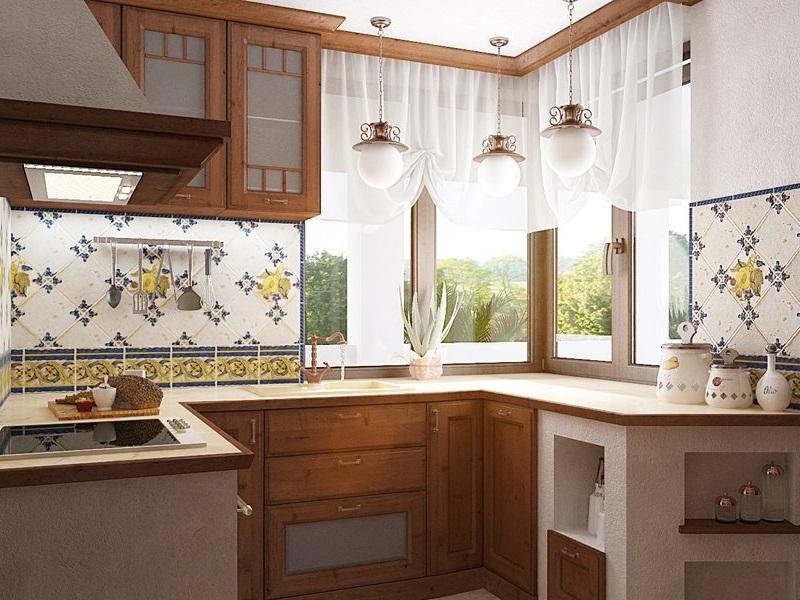 Маленькая кухня на даче фото