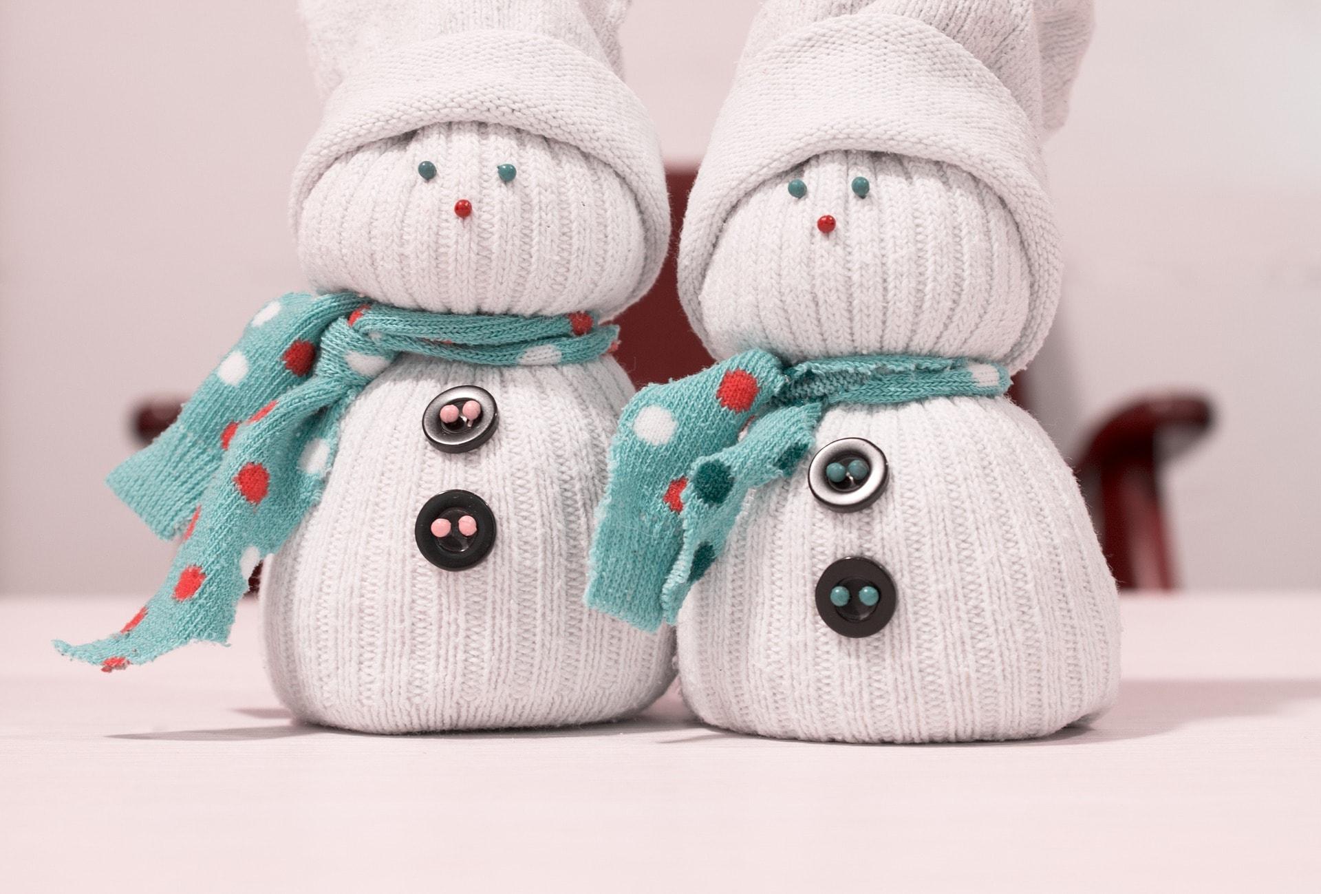 Сделать снеговика своими руками видео фото 407