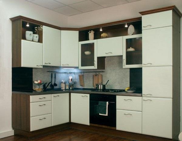 фото угловая кухонная мебель