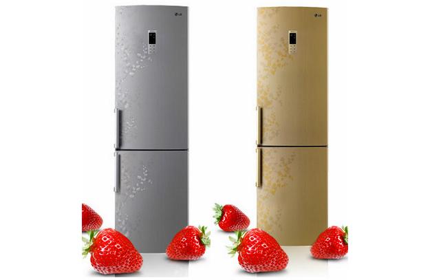 Холодильники золотистого цвета