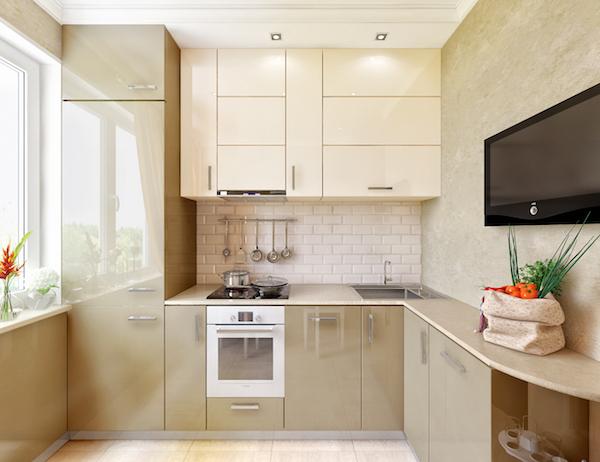 красивая кухня в хрущевке фото