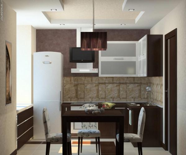 Угловая кухня 6 кв.м дизайн