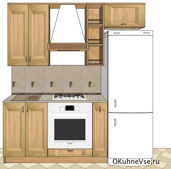 прямые кухни длиной 2 25 метра как обставить чтобы все уместить