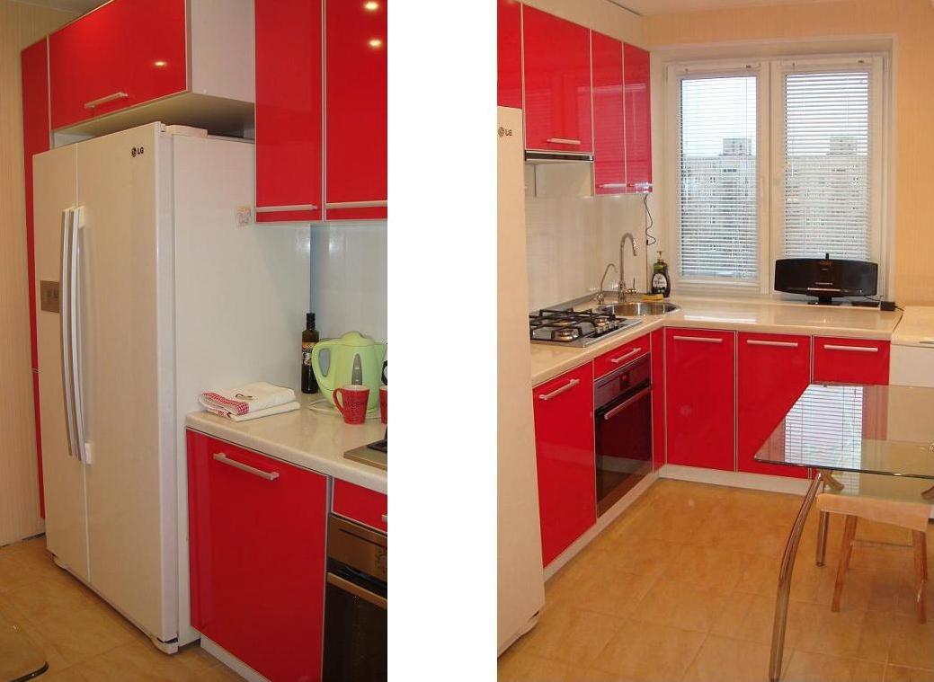 Кухня с нишей в панельном доме